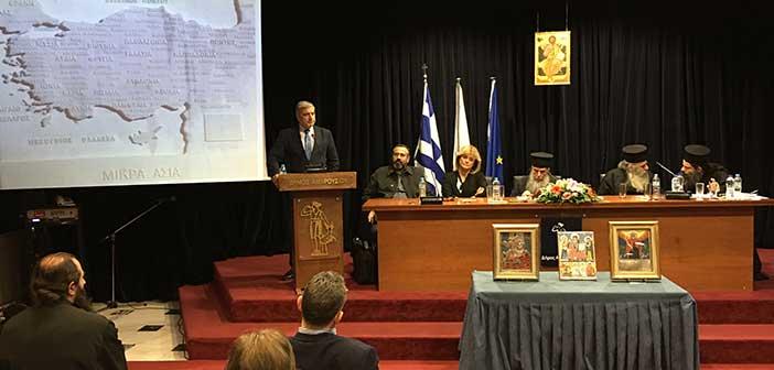 Σε εκδήλωση της Εστίας Πατερικών Μελετών ο δήμαρχος Αμαρουσίου