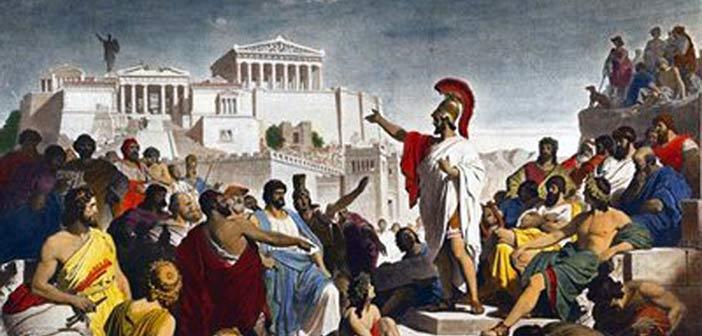 «Η αναγέννηση της Αθηναϊκής Δημοκρατίας» στο δημαρχείο Παπάγου – Χολαργού