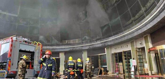 Δέκα νεκροί από πυρκαγιά σε ξενοδοχείο στην Κίνα