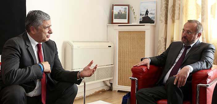 Συνάντηση προέδρου ΚΕΔΕ με τον Γάλλο πρέσβη στην Ελλάδα