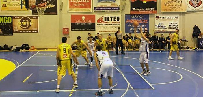 Μεγάλη νίκη της ΕΣΚΔ Ν. Ιωνίας επί του Ηλυσιακού με 69-66