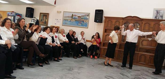 Τα μέλη του ΚΑΠΗ Αμαρουσίου τίμησαν την Εθνική Επέτειο της 25ης Μαρτίου