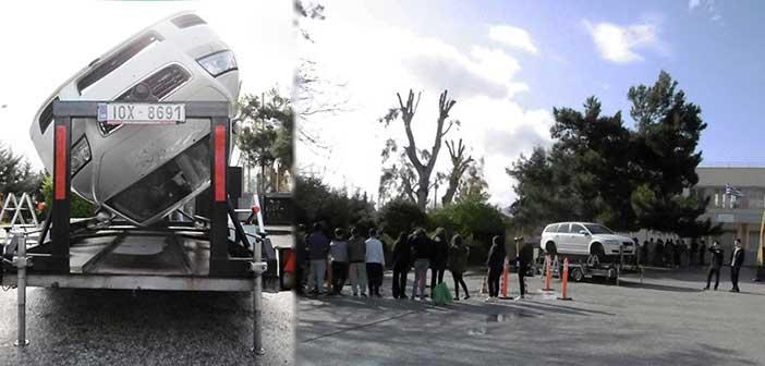 Βιωματική εκπαίδευση μαθητών στην οδική ασφάλεια στο 1ο Λύκειο Αμαρουσίου