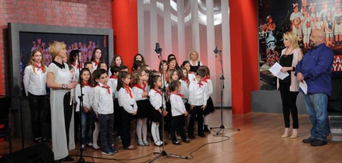 Η Παιδική Χορωδία Χαλανδρίου στην ΕΡΤ1