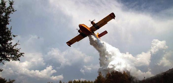 Μεγάλη πυρκαγιά σε δασική έκταση στις Μαριές Ζακύνθου