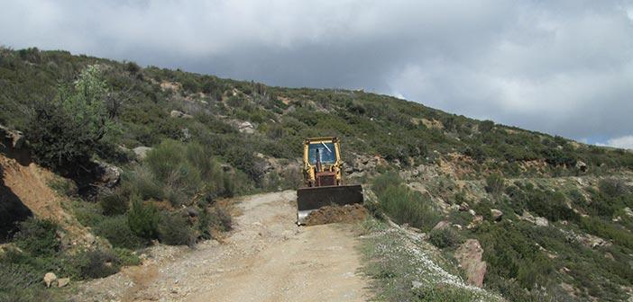 Αποκατάσταση δασικών δρόμων στη Β/Α πλευρά του Πεντελικού από τον ΣΠΑΠ