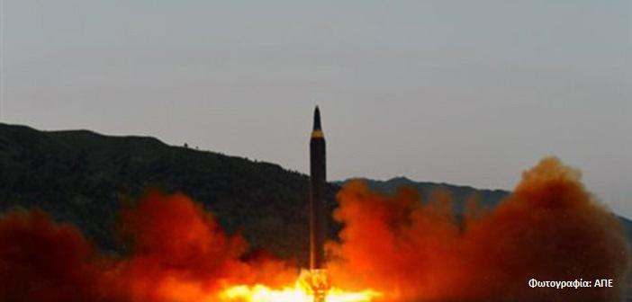 Μία ακόμα εκτόξευση πυραύλου από τη Β. Κορέα