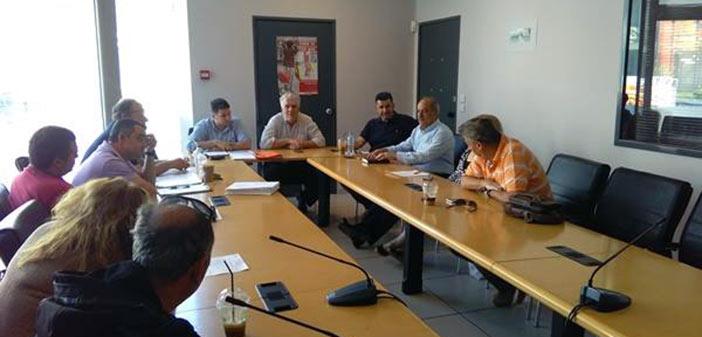 Με το νέο Δ.Σ. της ΕΝΕΒΑΠ συναντήθηκαν εκπρόσωποι της παράταξης του Β. Ζορμπά