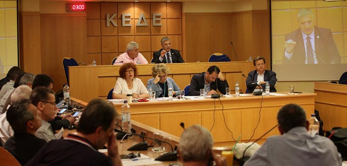 Έκτακτη συνεδρίαση Δ.Σ. ΚΕΔΕ για τη νομοθετική ρύθμιση για τους συμβασιούχους