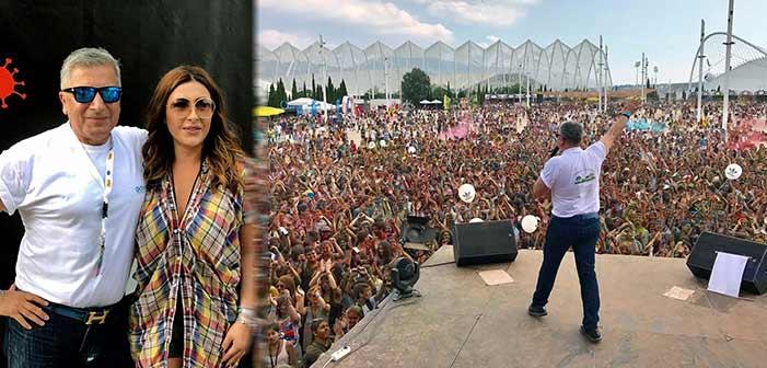 Χιλιάδες νέοι στο Colour Day Festival στο Μαρούσι