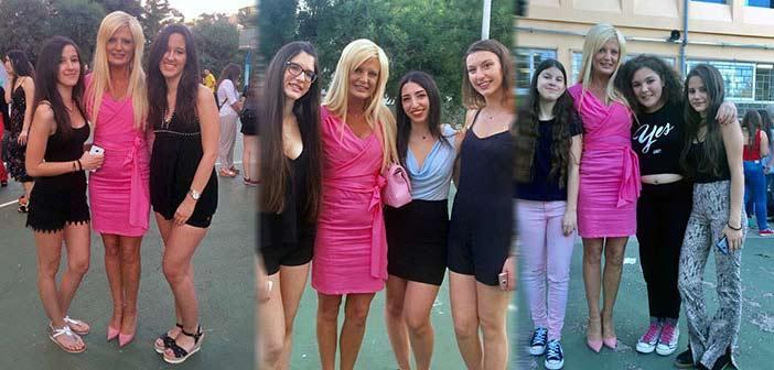 Στις γιορτές αποφοίτησης 1ου Γυμνασίου και 2ου ΓΕΛ Πεύκης η Μαρίνα Σταυράκη