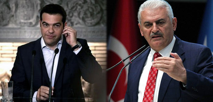 Τα σκαλιά του Μαξίμου ανεβαίνει τη Δευτέρα ο Τούρκος πρωθυπουργός