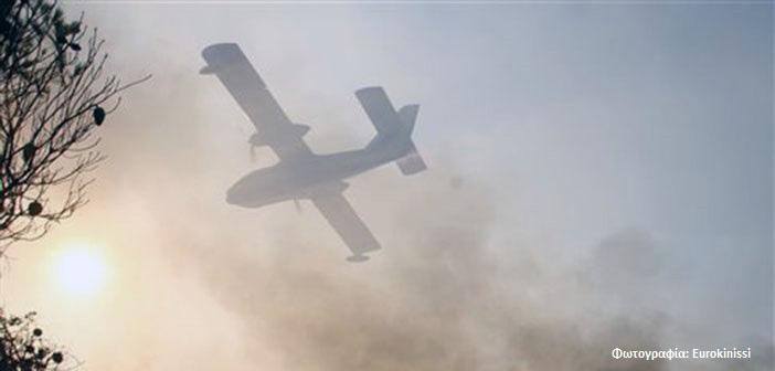 Τεράστια κινητοποίηση για την πυρκαγιά στη Ζάκυνθο