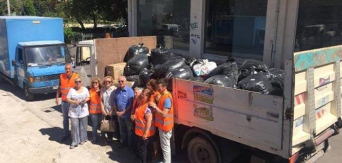 1,5 τόνο πλαστικά καπάκια… αντάλλαξαν με αμαξίδιο οι Ηρακλειώτες