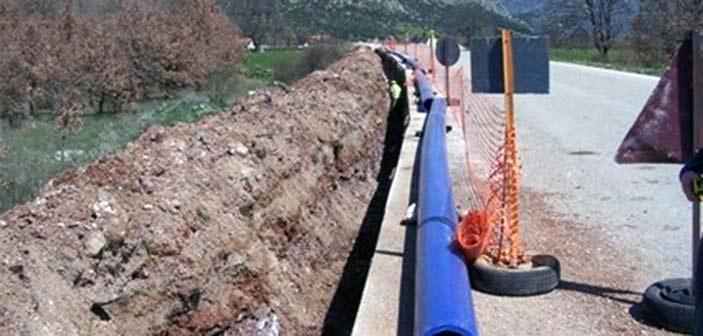 Προχωρά η συμπλήρωση του δικτύου ύδρευσης της παραλιακής ζώνης Καλάμου