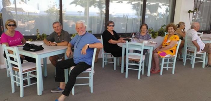 Επταήμερες διακοπές στη Νεάπολη Λακωνίας για τα μέλη των ΚΑΠΗ Χαλανδρίου