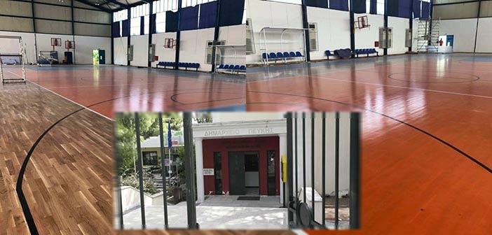 Δήμος Λυκόβρυσης – Πεύκης: Οι εργασίες στο κλειστό μπάσκετ ολοκληρώνονται άμεσα