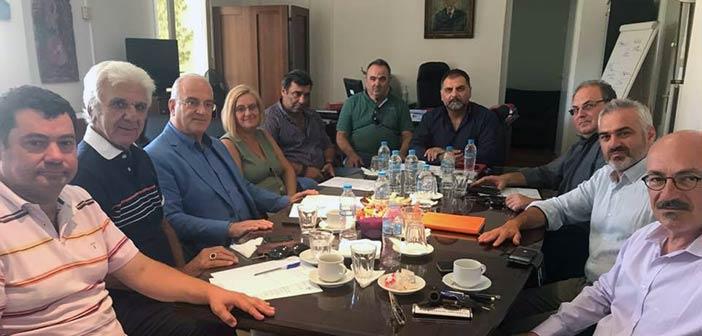 Σε συνάντηση νοσοκομειακών φορέων στο «Σισμανόγλειο» ο Τ. Μαυρίδης