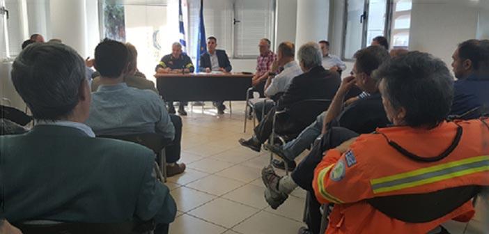 Συστάσεις Γ. Καραμέρου προς τους Δήμους του Βορείου Τομέα ενόψει χειμώνα