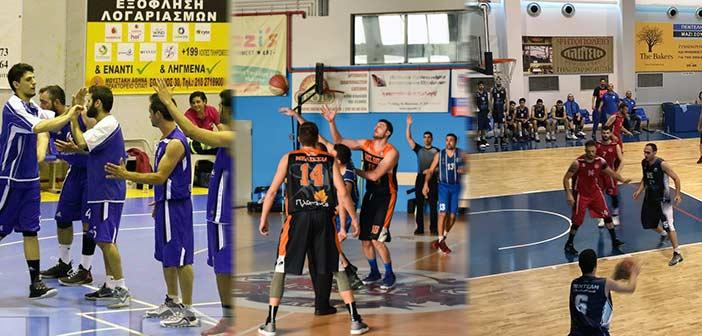 Νέα Ιωνία και ΚΑΟ Μελισσίων οι μεγάλοι νικητές στη Γ' Εθνική μπάσκετ