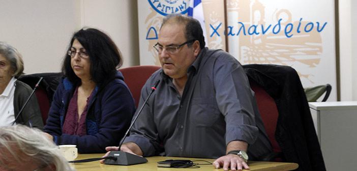 Σ. Ρούσσος: Τραγικές συνέπειες για το Χαλάνδρι από τη μη ψήφιση του Τεχνικού Προγράμματος