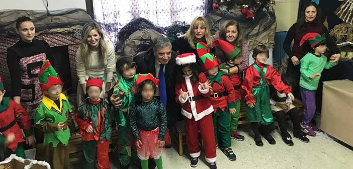 Στη γιορτή των μαθητών του Νηπιαγωγείου του Σικιαρίδειου ο Γ. Πατούλης