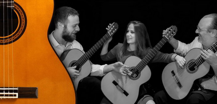 Οι Magico Guitar Τrio στο Αετοπούλειο