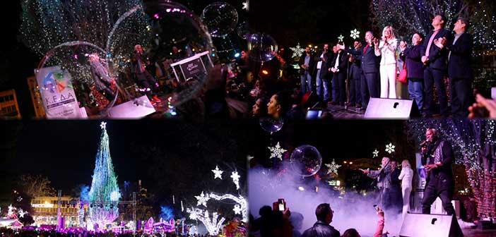 Η μαγεία των Χριστουγέννων… απλώνεται στο Μαρούσι