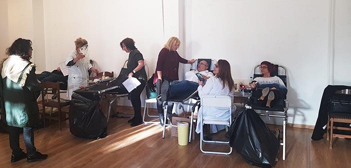 Συγκινητική ανταπόκριση στην εθελοντική αιμοδοσία Δήμου Ηρακλείου Αττικής