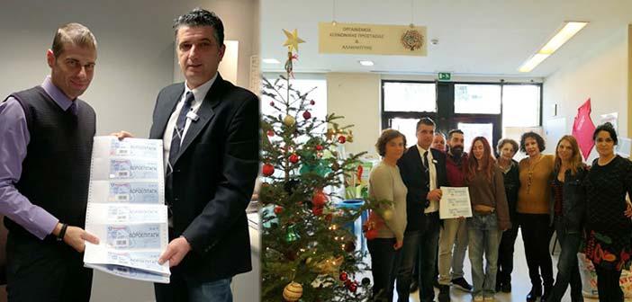 200 δωροεπιταγές για ωφελούμενους των κοινωνικών δομών Δήμου Βριλησσίων