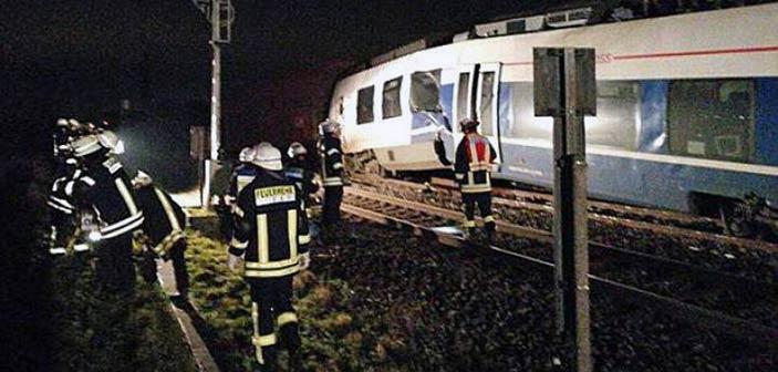 Πενήντα τραυματίες σε σύγκρουση τρένων στο Ντίσελντορφ