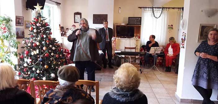 Γιορτινή διάθεση στη χριστουγεννιάτικη γιορτή του Α΄ ΚΑΠΗ Κηφισιάς
