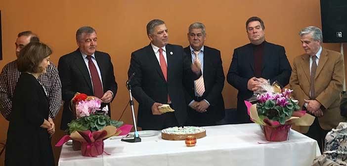 Μηνύματα αισιοδοξίας στην κοπή πρωτοχρονιάτικης πίτας του Συλλ. Ψαλιδίου