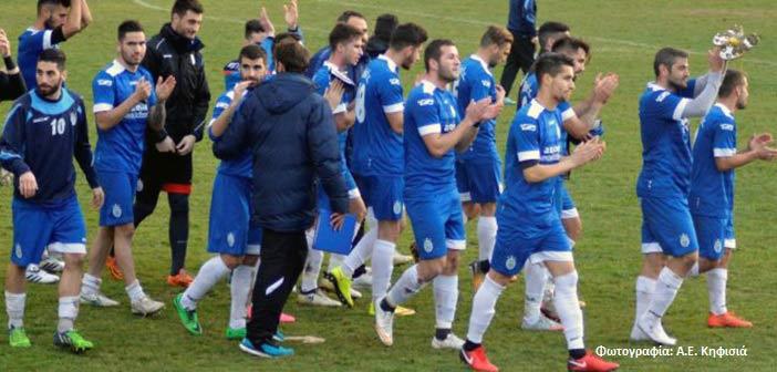 Νίκη της Κηφισιάς επί του Φωστήρα με 2-1 για τη 13η αγωνιστική της Γ' Εθνικής