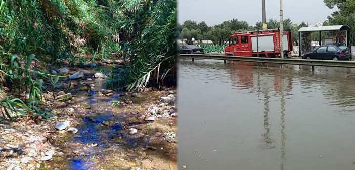Ζητείται συνολικός αντιπλημμυρικός σχεδιασμός για το ρέμα Πεντέλης-Χαλανδρίου