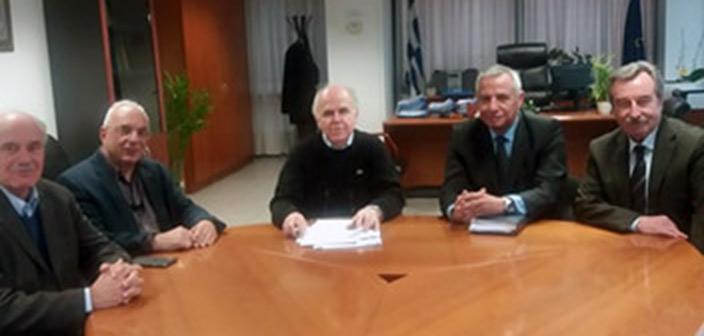 Συνάντηση Ένωσης Δημάρχων Αττικής με τον συντονιστή της Αποκεντρωμένης Σπ. Κοκκινάκη