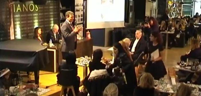 Ο δήμαρχος Πεντέλης στην παρουσίαση βιβλίου για τη Δούκισσα της Πλακεντίας