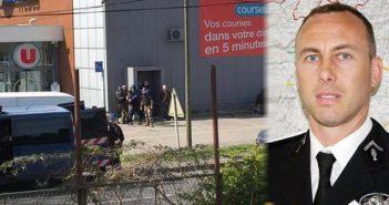 Γαλλία: «Πολιτική διαθήκη» είχε κάνει ο δράστης της αιματηρής επίθεσης – Πέθανε ο ηρωικός χωροφύλακας