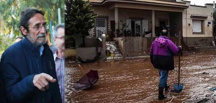 Συνέντευξη Τύπου Γ. Βασιλείου για τις πλημμύρες στη Δυτική Αττική