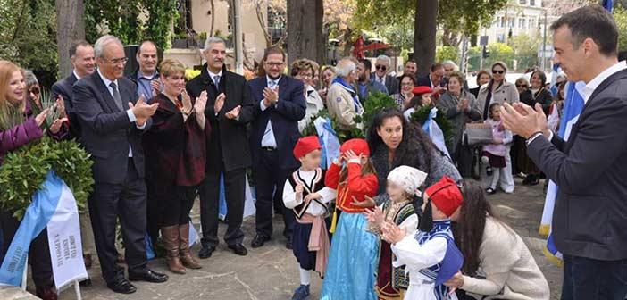 Φόρος τιμής στους αγωνιστές του 1821 στον Δήμο Κηφισιάς