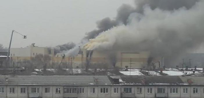 Ρωσία: Πέντε νεκροί και 32 τραυματίες από πυρκαγιά σε εμπορικό κέντρο