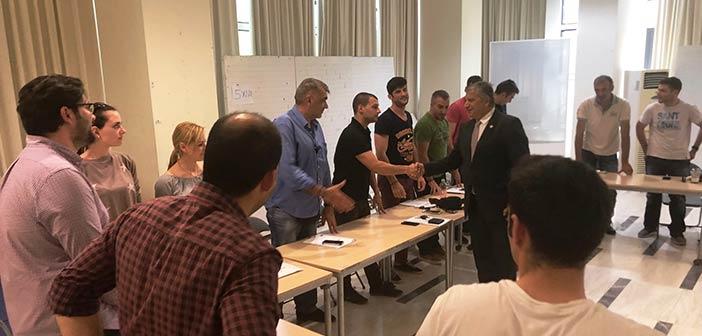 Πρόγραμμα εκπαίδευσης αστυνομικών υλοποιήθηκε στο δημαρχείο Αμαρουσίου