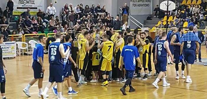 Νίκη μόνο για το Μαρούσι στην 26η αγωνιστική της Α2 μπάσκετ Ανδρών