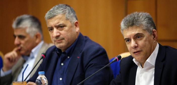 Συνέντευξη Τύπου προέδρων ΕΝΠΕ και ΚΕΔΕ ενόψει του πρώτου κοινού συνεδρίου της Αυτοδιοίκησης