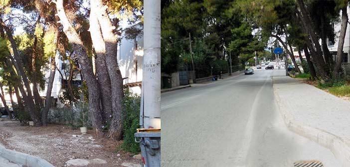 Έργα κατασκευής και συντήρησης πεζοδρομίων στον Δήμο Κηφισιάς