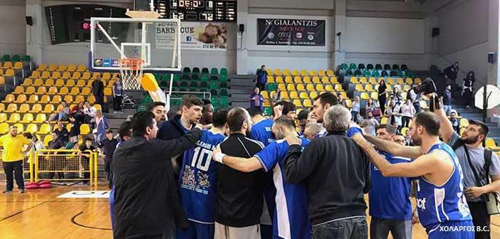 Νίκες για Χολαργό και Παπάγο στην 27η αγωνιστική της Α2 μπάσκετ Ανδρών