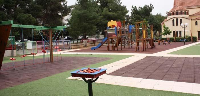 Ανάπλαση δύο παιδικών χαρών του Δήμου Παπάγου – Χολαργού