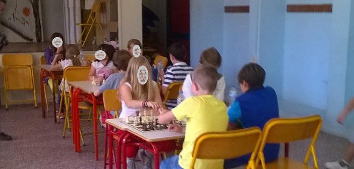 Προφεστιβαλικοί σκακιστικοί αγώνες Δημοτικών Σχολείων Δήμου Λυκόβρυσης – Πεύκης