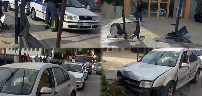 Τραγωδία στη Μεταμόρφωση: Αυτοκίνητο έπεσε σε στάση λεωφορείου – Ένας νεκρός και τέσσερις τραυματίες