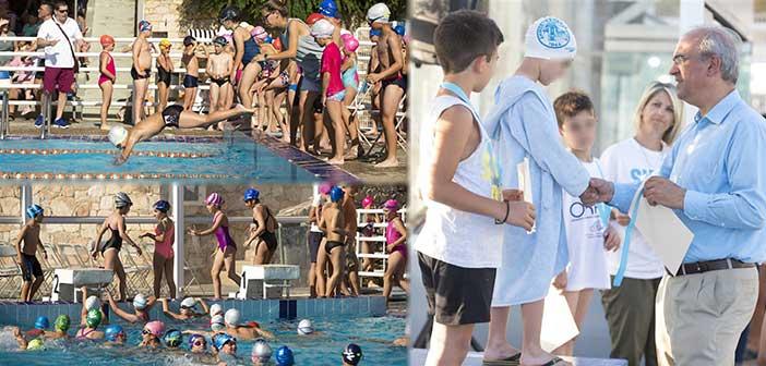 120 αθλητές πήραν μέρος στους Διαδημοτικούς Αγώνες Κολύμβησης Δήμου Κηφισιάς